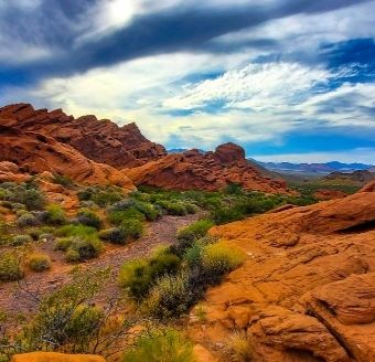 Valley of Fire Yoga Adventure